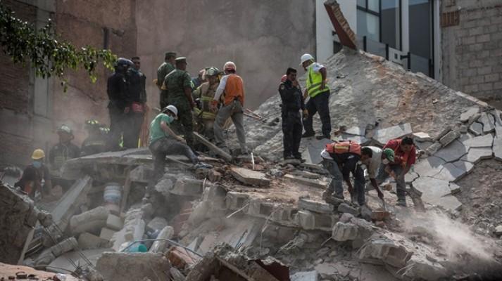 Meksika'da 7.1'lik Felaketin Bilançosu Ağır Oldu