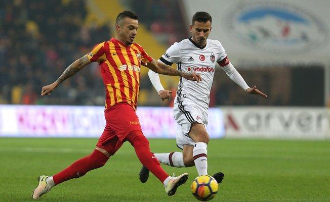 Beşiktaş-Kayserispor Deplasmanı 1-1 Berabere Sonuçlandı