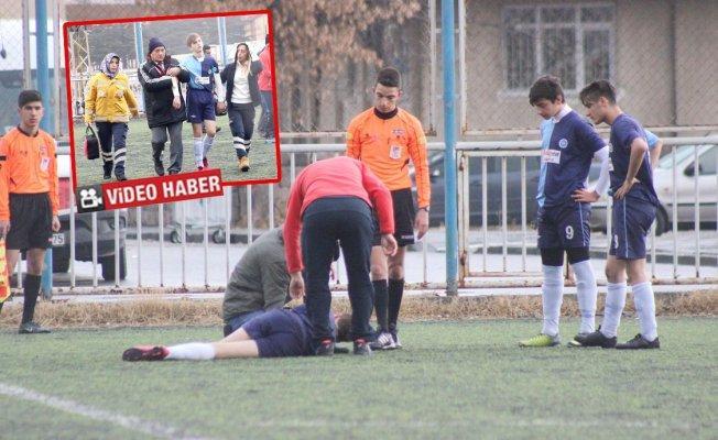 Maç Esnasında Sara Nöbeti Geçiren Amatör Futbolcu