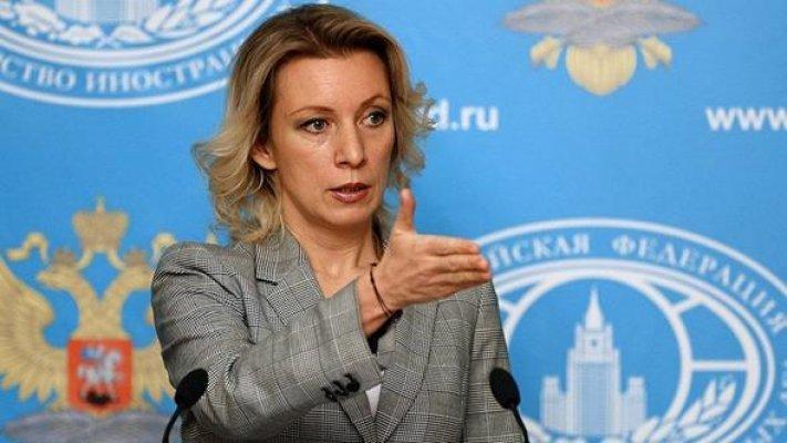 Rusya Dışişleri Bakanlığı Sözcüsü Mariya Zaharaova: ''PYD'yi İstemiyoruz''