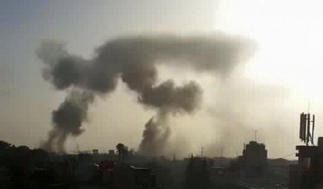 Beşar Esad Halep'e Hava Saldırısı Gerçekleştirdi