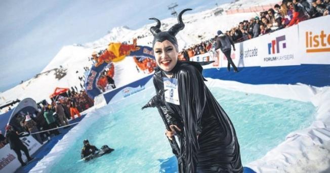 Erciyes Dağı'nda Havuz Yarışması