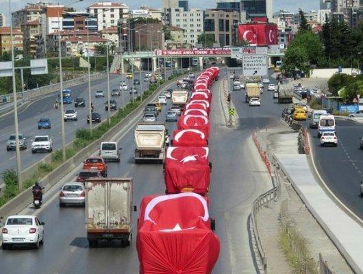Kayseri'de Mehmetçik İçin Konvoy Oluşturdular!