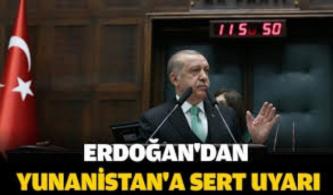 Erdoğan '' Yakın Tarihe Baksınlar Salamura Olmaktan Nasıl Kurtuldular''