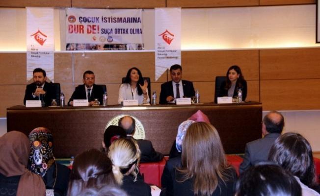 Kayseri'de Çocuk İstismarına Yönelik Eğitim Düzenlendi