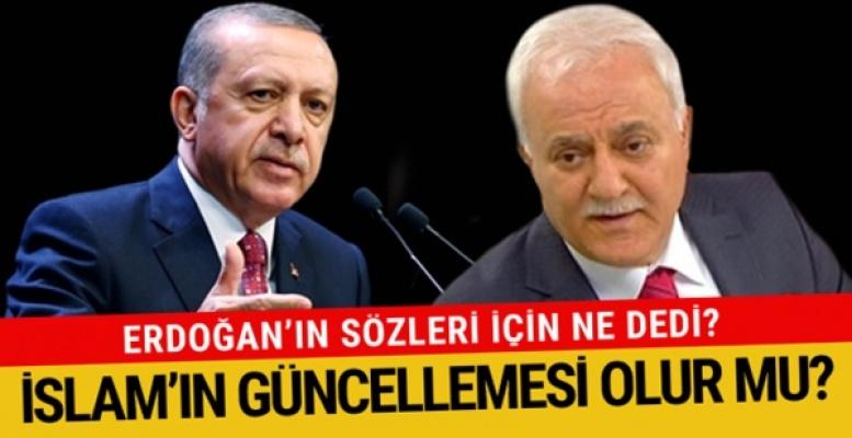 Nihat Hatipoğlu İslamın Güncellemesi Hakkında Konuştu!