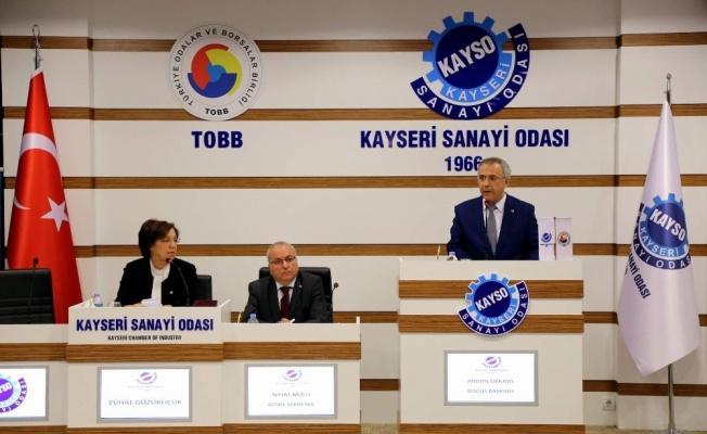 KAYSO Meclis Başkanı Abidin Özkaya seçildi!
