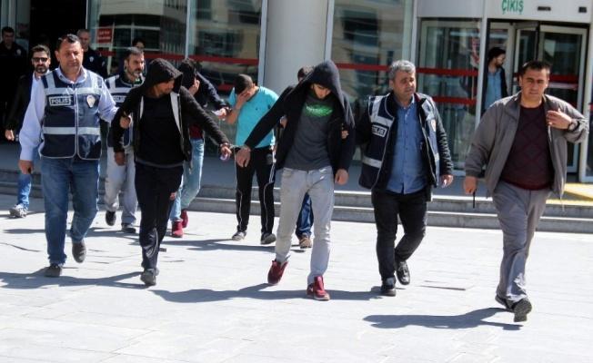 Kayseri'nin Akü hırsızları yakalandı!