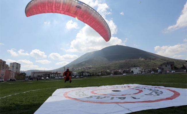 Ali Dağı'nda Yamaçparaşütü Şampiyonası başladı!
