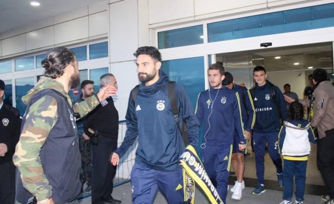 Fenerbahçe, Kayserspor maçı için Kayseri'ye geldi!