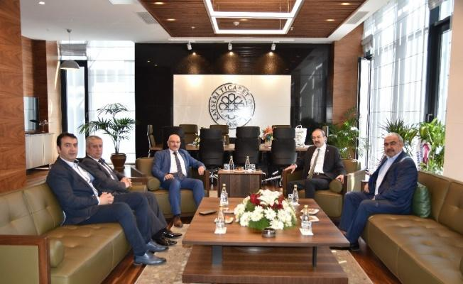 İl Başkanı Özden'den KTO'ya Hayırlı Olsun Ziyareti