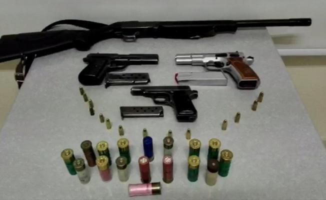 Kayseri Emniyeti'nden Silah Kaçakçılarına Operasyon