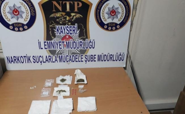 Kayseri Emniyeti'nden Uyuşturu Operasyonu! 2 Gözaltı