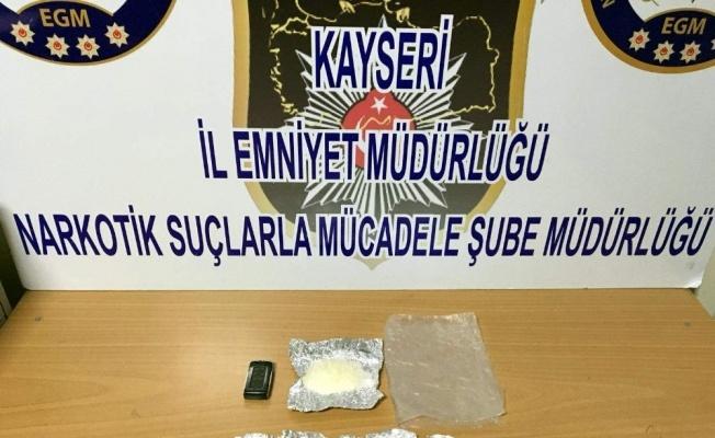 Kayseri'de metamfetamin operasyonu!