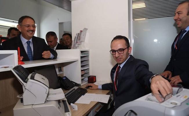 Bakan Özhaseki Cumhurbaşkanı Erdoğan'a 13 bin TL destek verdi.