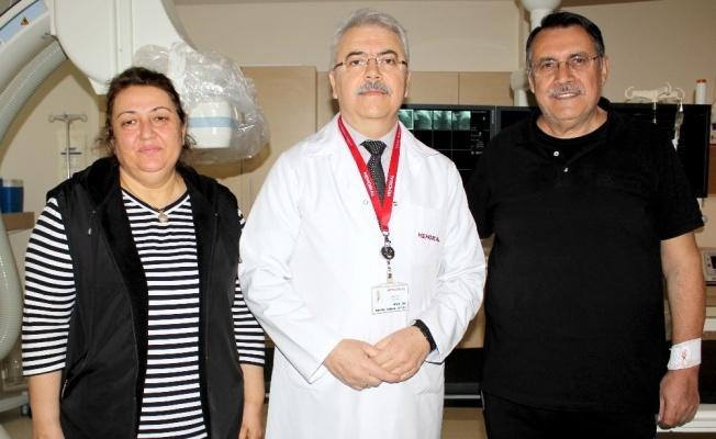 Yüzde 99 Tıkalı Kalp Damarı Başarılı Operasyon İle Açıldı