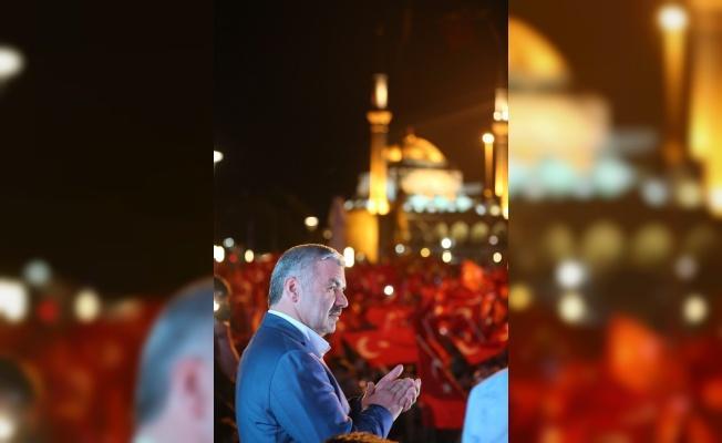 Başkan Çelik'ten 15 Temmuz Cumhuriyet Meydanı çağrısı