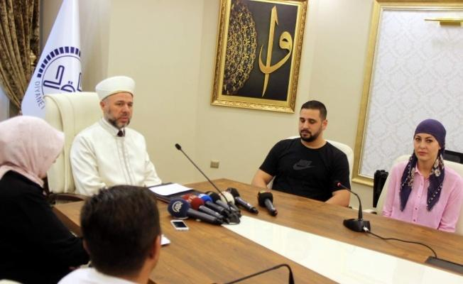 Alman Natascha kelime-i şehadet getirdi Müslüman oldu