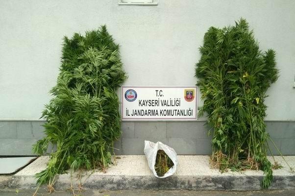 Bünyan'da uyuşturucu operasyonu!