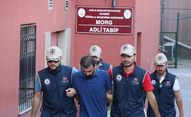Kayseri'de terör örgütlerinin propagandasını yapan 1 kişi tutuklandı!