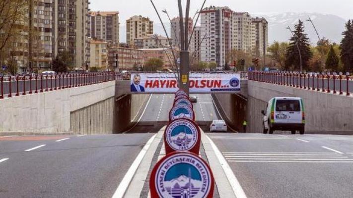 Kayseri'de Katlı Kavşak Yapımı Mesafeleri Kısalttı
