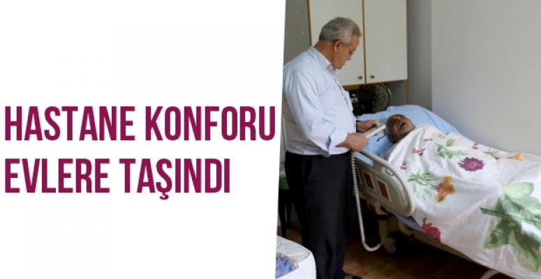 Evde Yatan Hastalara Hastane Konforu Benli'den Geldi