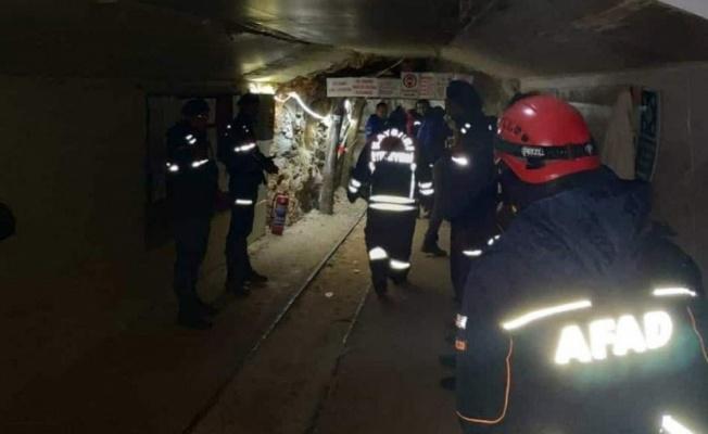 Göçük Altında Kalan Madende bir Kişi Hayatını Kaybetti