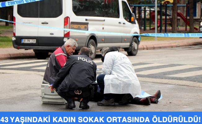 Kayseri'de 43 Yaşındaki Kadın Sokak Ortasında Öldürüldü