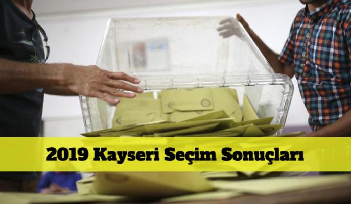 2019 Kayseri seçim sonuçları! Büyükkılıç Dursun oy oranları 31 Mart
