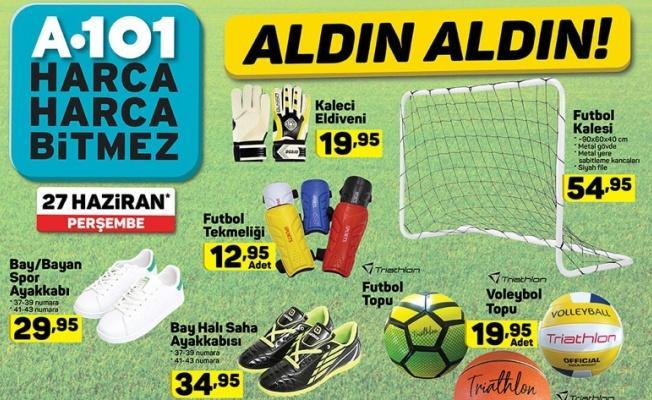 A101 Aktüel Ürünler Kataloğu 27 Haziran çıktı! Yaz ürünleri kaçırılmayacak fırsatlar