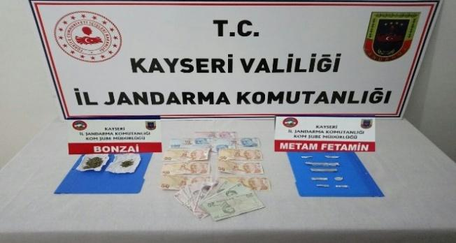 İncesu'da uyuşturucu operasyonu: 3 tutuklama