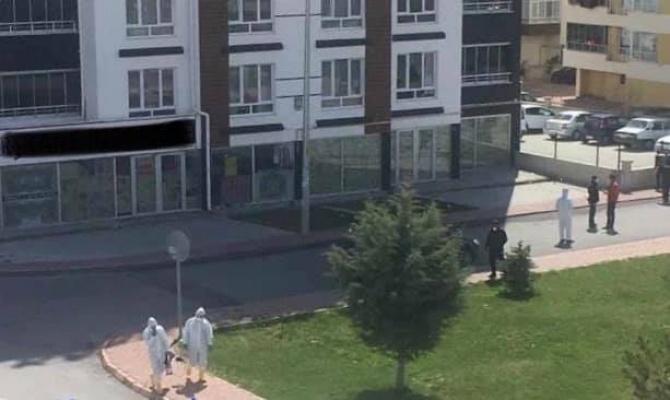 Kayseri'de bir apartman Korona virüsünden karantinaya alındı!