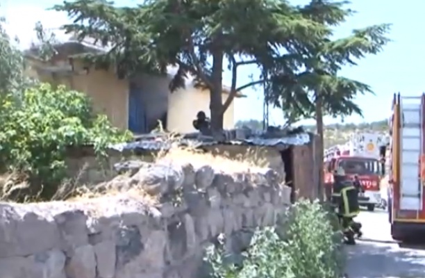 Kirayı isteyen ev sahibine kızdı, oturduğu evi yaktı!