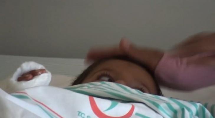 4 yaşındaki İsmail'in kolu biçerdöverde koptu!