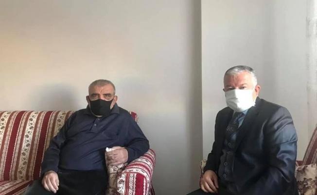 Kaymakam Duru'dan 'Efsane muhtar'a ziyaret