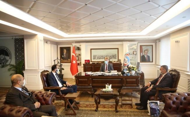 """Başkan Mustafa Palancıoğlu: """"Her zaman şehit aileleri ve gazilerimizin yanındayız"""""""