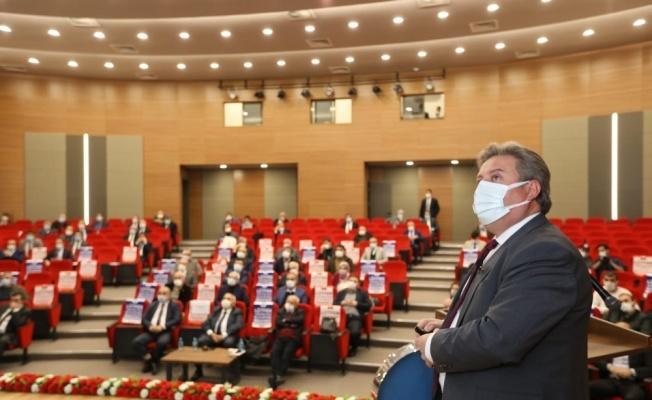 Melikgazi'de 2021'in ilk meclisi toplandı