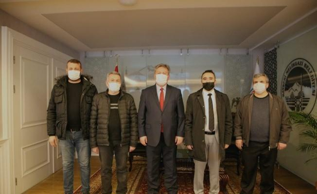 Hunat Çarşısı esnafından Başkan Palancıoğlu'na teşekkür