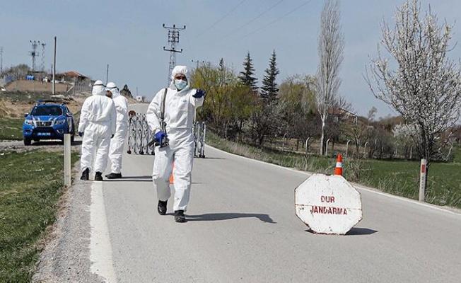 Mutasyonlu virüs görülen mahalle karantinaya alındı