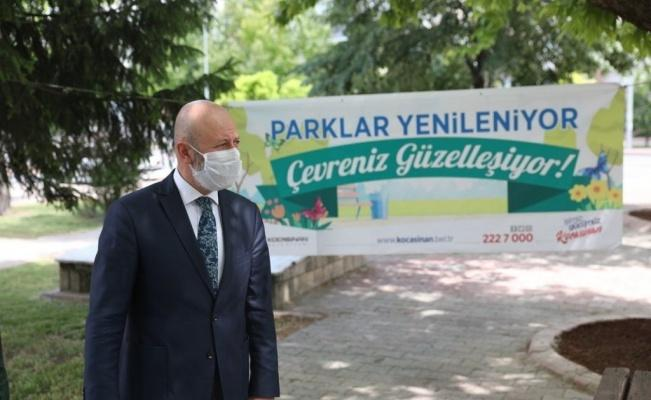 """Başkan Çolakbayrakdar: """"Yeşil alan miktarı daha da artırılacak"""""""