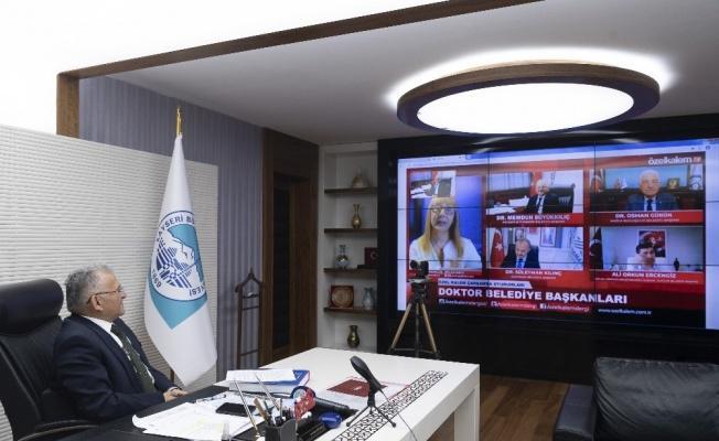 Büyükkılıç 'Doktor Başkanlar Konuşuyor' Programına katıldı