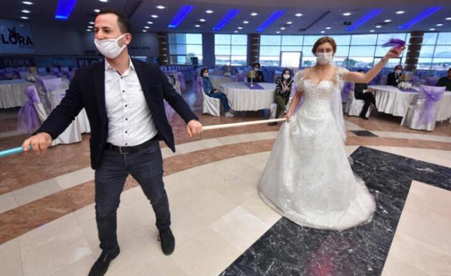 Düğün salonları müşteri kapasitesinin yüzde 50'ye çıkarılmasını istiyor