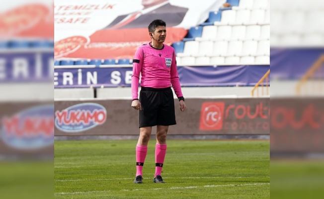 Hatayspor-Kayserispor maçını Yaşar Kemal Uğurlu yönetecek