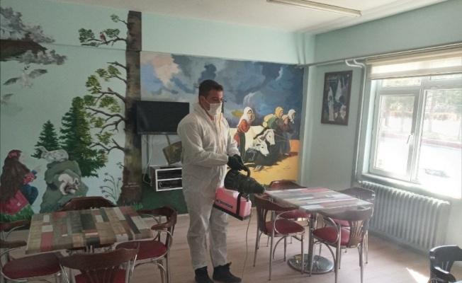 Melikgazi Belediyesi dezenfekte çalışmalarına devam ediyor
