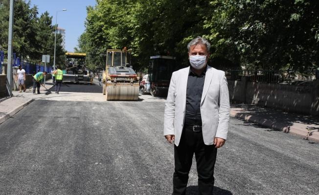 Melikgazi Belediyesi yol çalışmaları için malzeme satın aldı