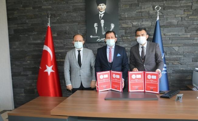 Gençlik ve Spor İl Müdürlüğü ile Fen Bilimleri Koleji arasında işbirliği protokolü imzalandı