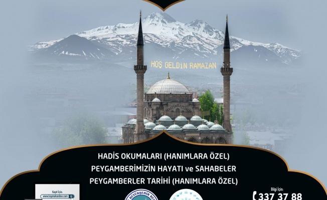 KAYMEK'ten Ramazan Kursları