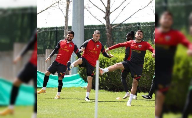 Kayserispor, Denizlispor maçı hazırlıklarını tamamladı