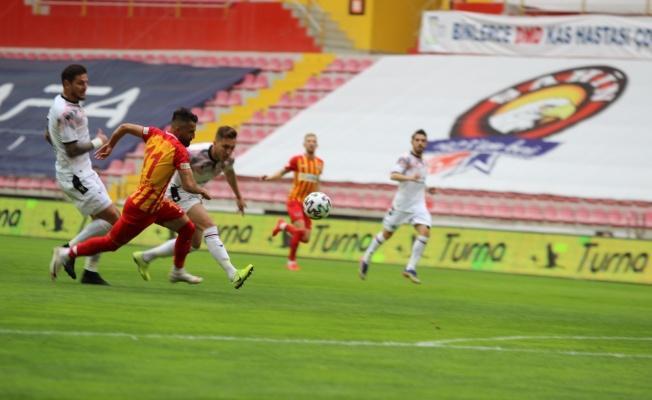 Kayserispor: 1 - Gençlerbirliği: 0 (İlk yarı)