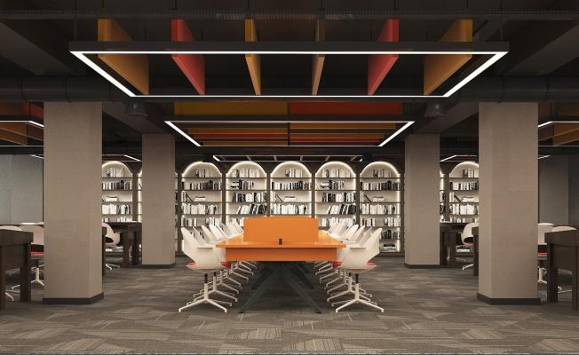 Talas'a yeni kütüphane çalışmaları tam gaz